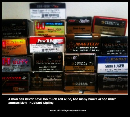 Ammo with Rudyard Kipling quote