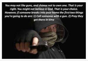 Guns and God